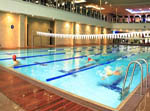 e-Clear has installed in commercial swimming pools for hotels, schools, municipalities, sport science institutes, health clubs and equestrian training pools worldwide.
